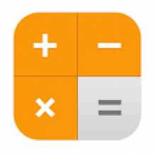 iOS calculator app