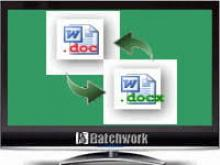 Batch DOC and DOCX Converter